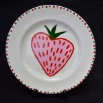 Plate - Strawberry Design
